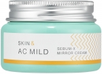 Holika Holika Skin and AC Mild Sebum X Mirror Cream Увлажняющий крем-гель